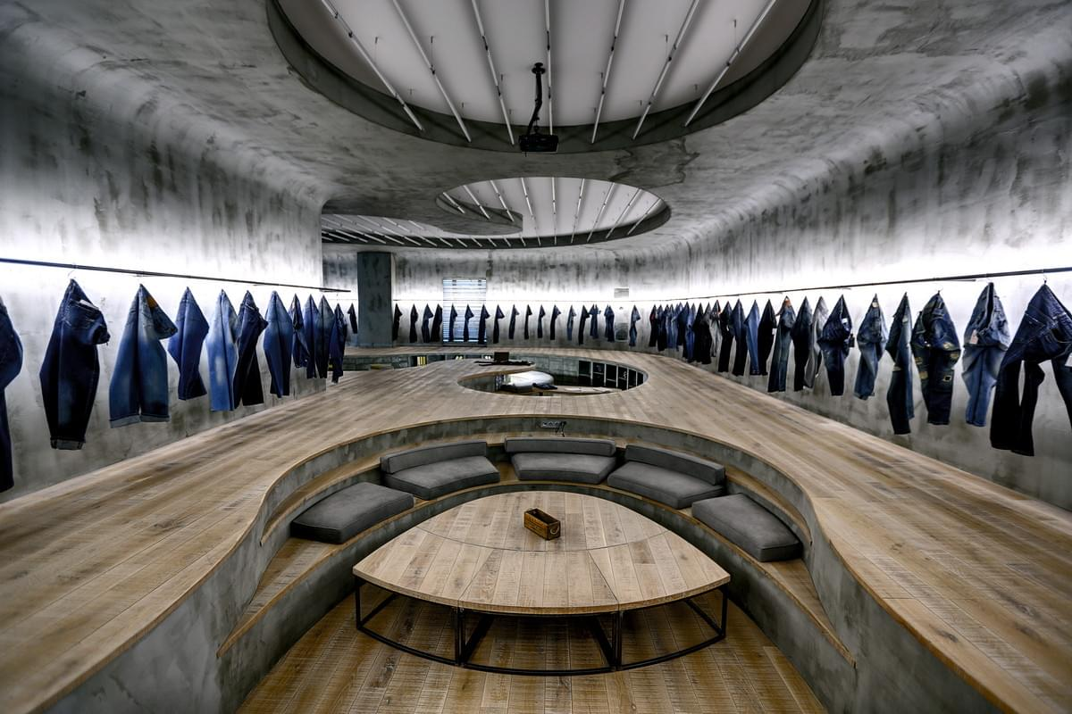 Denim Design Studio in Istanbul, Turkey