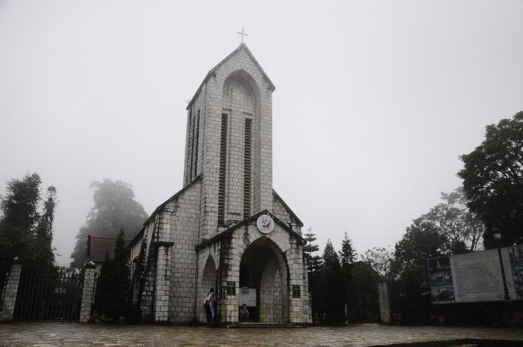 Sapa Old Stone Church