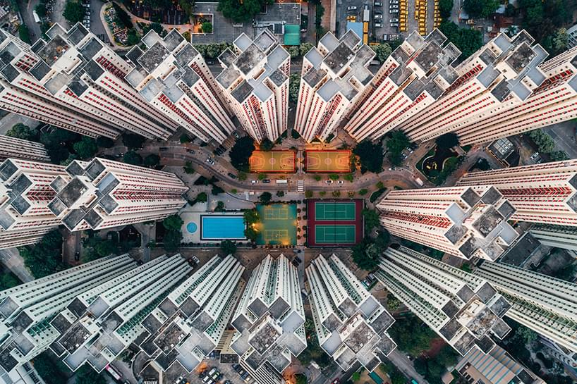 Density by Drone: Andy Yeung Highlights Claustrophobic Living in Hong Kong