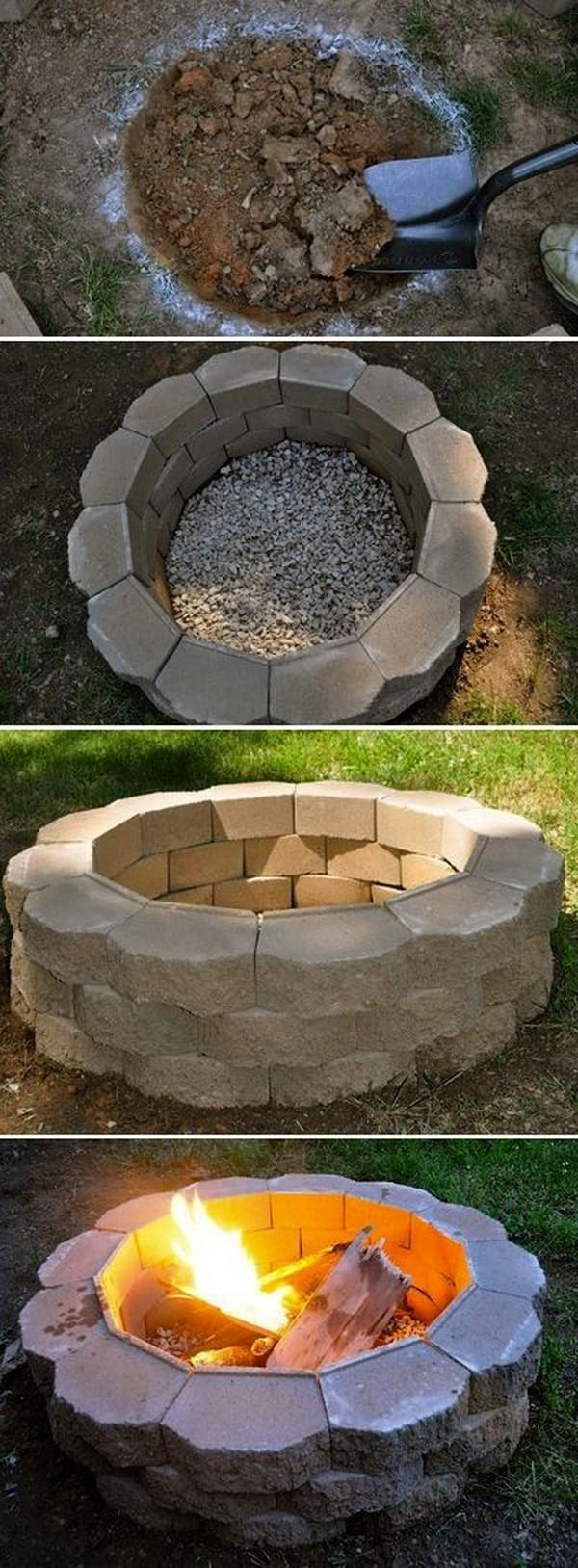 20 DIY Fire Pits For Your Backyard (part 3)
