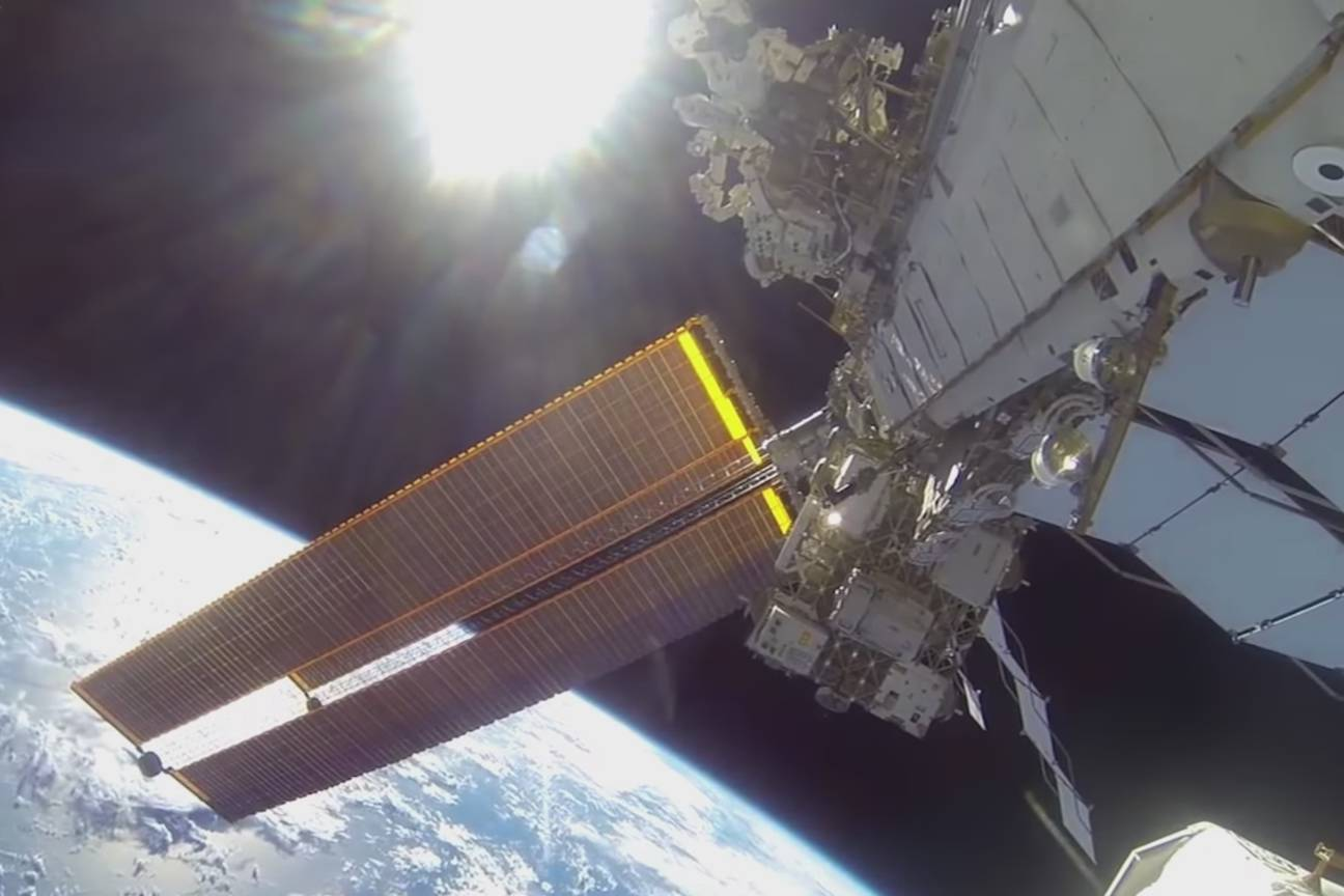 Visit the International Space Station with Google Street View!