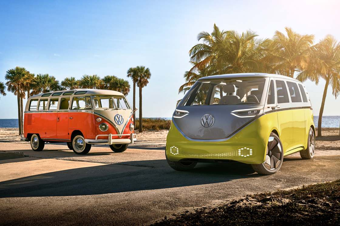 ID Buzz – Volkswagen unveils an electric version of its iconic minivan!