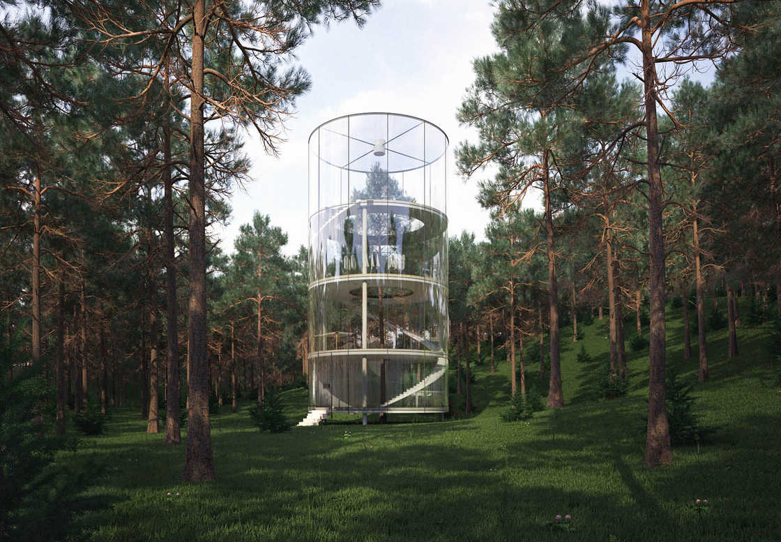 Modern Tree House A Beautiful Futuristic And Eco Responsible House