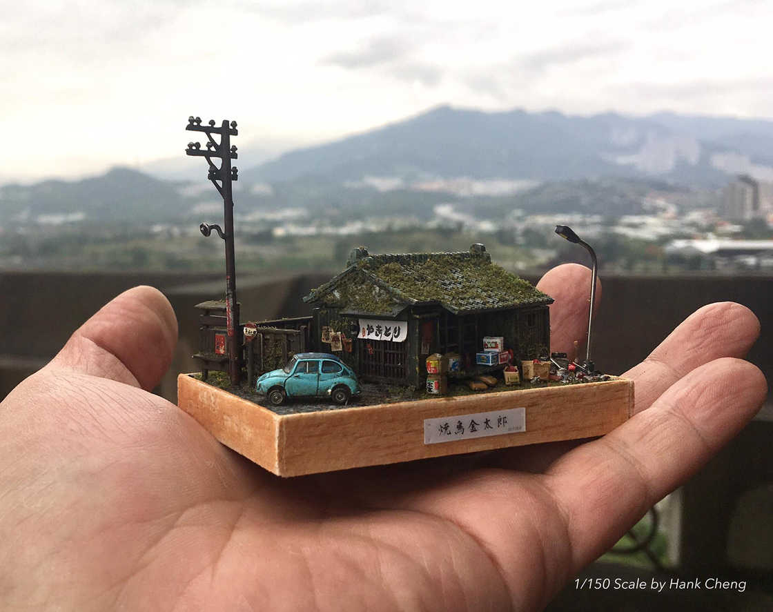 The ultra-detailed dioramas of Hank Cheng