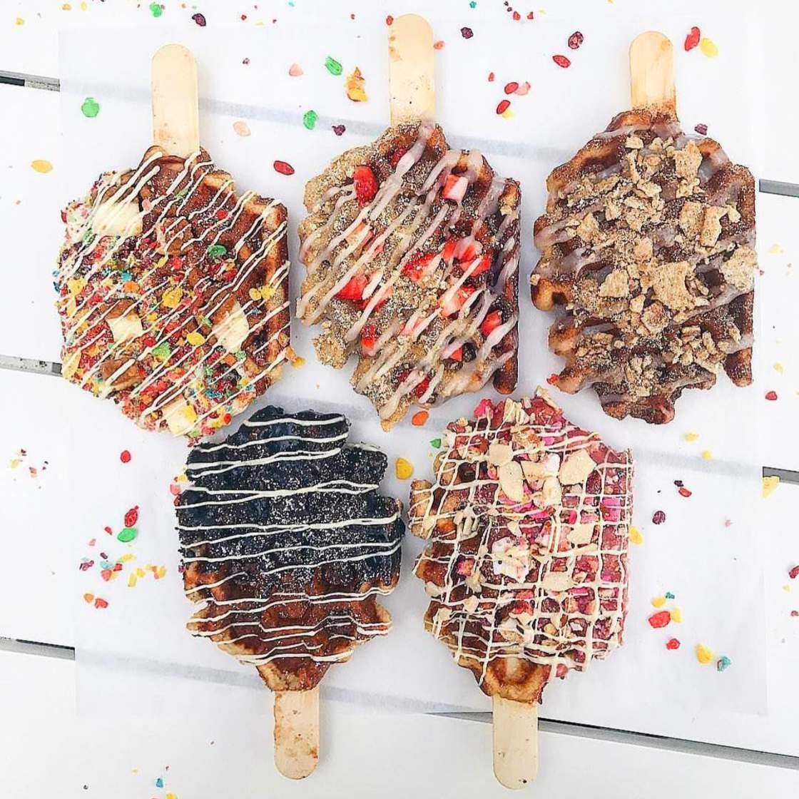 Waffle Pops – The appetizing creative waffles of Sweet Combforts