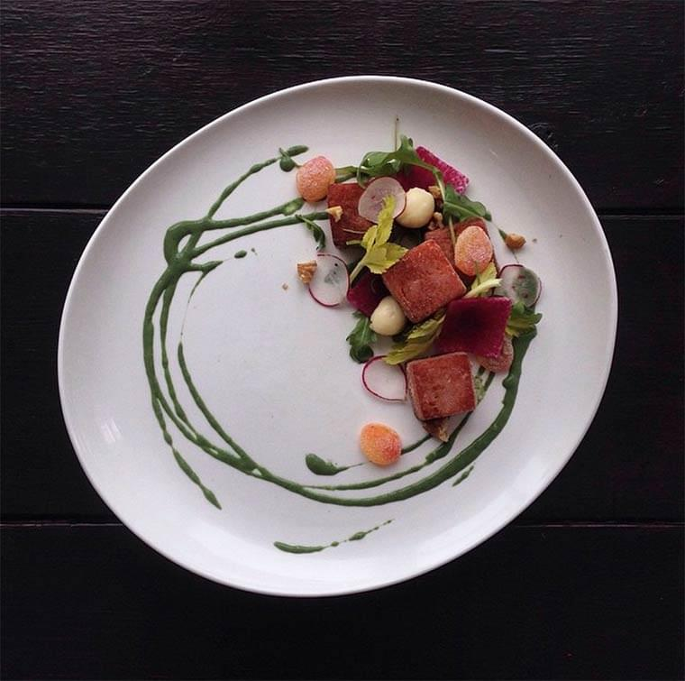 A chef is transforming junk food into amazing and beautiful gourmet dishes