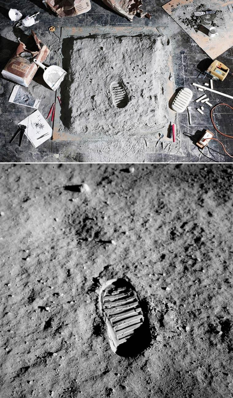 AS11-40-5878, Edwin Aldrin, 1969