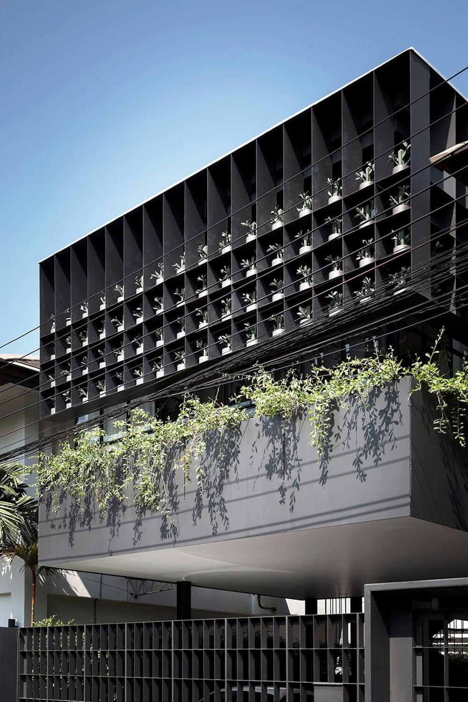 Flower Cage House, Bangkok, Thailand