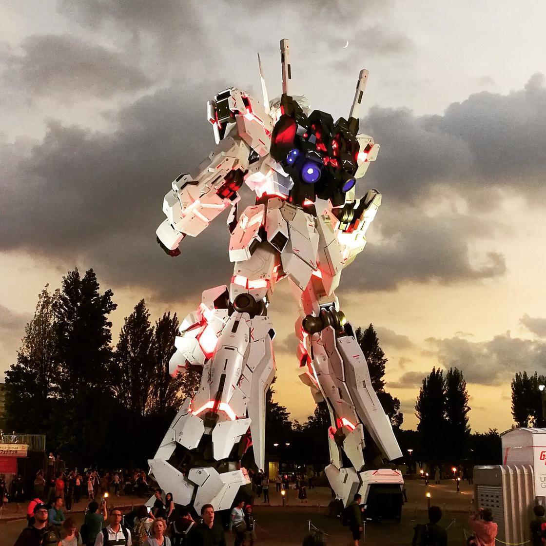 Tokyo unveils its new life-sized Gundam!