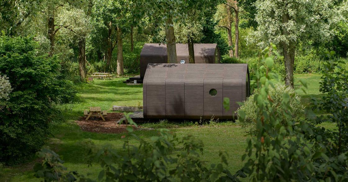 Wikkelhouse – This modular and ecological house is made of cardboard