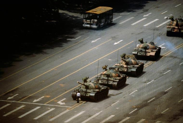 Tiananmen, Stuart Franklin, 1989
