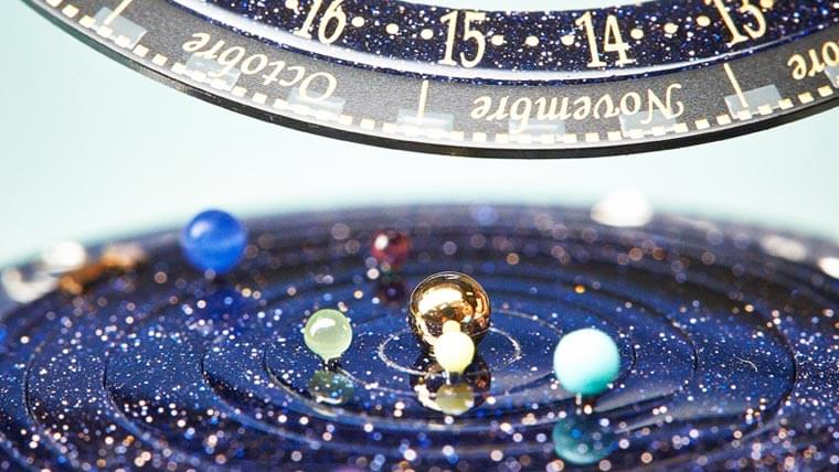 Planetarium – This amazing watch mimics the movement of planets