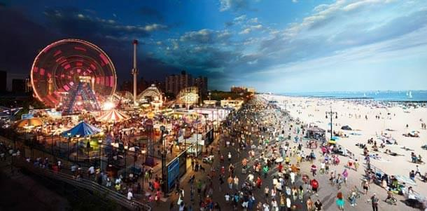 Day to Night – When the Day meets the Night in a single photograph of Stephen Wilkes