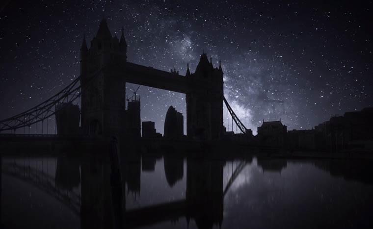 Blackout City – When the night sky and stars become visible again