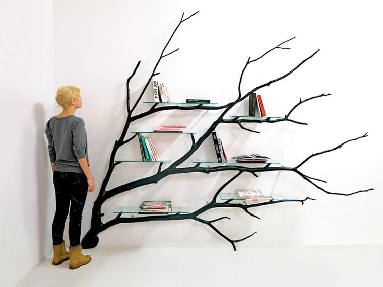 This designer transforms tree branches into beautiful decorative creations