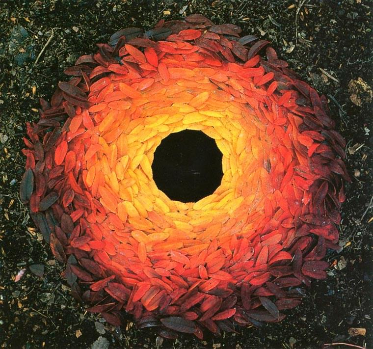 Ephemeral Nature – The fascinating Land Art creations of Andy Goldsworthy
