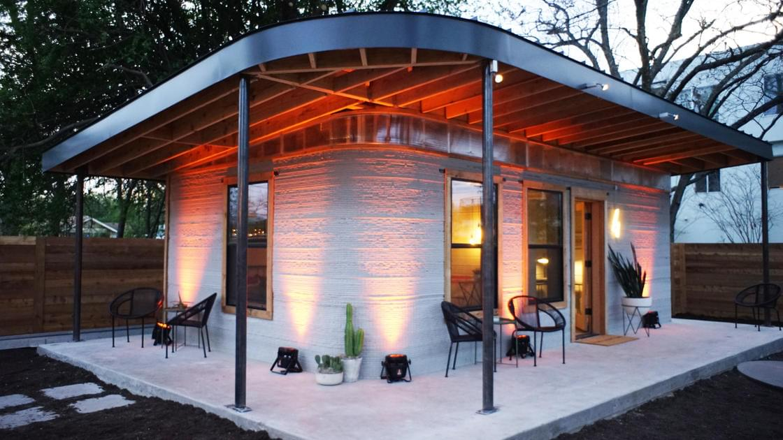 These houses can be 3D printed in just 24 hours, for less than $4000