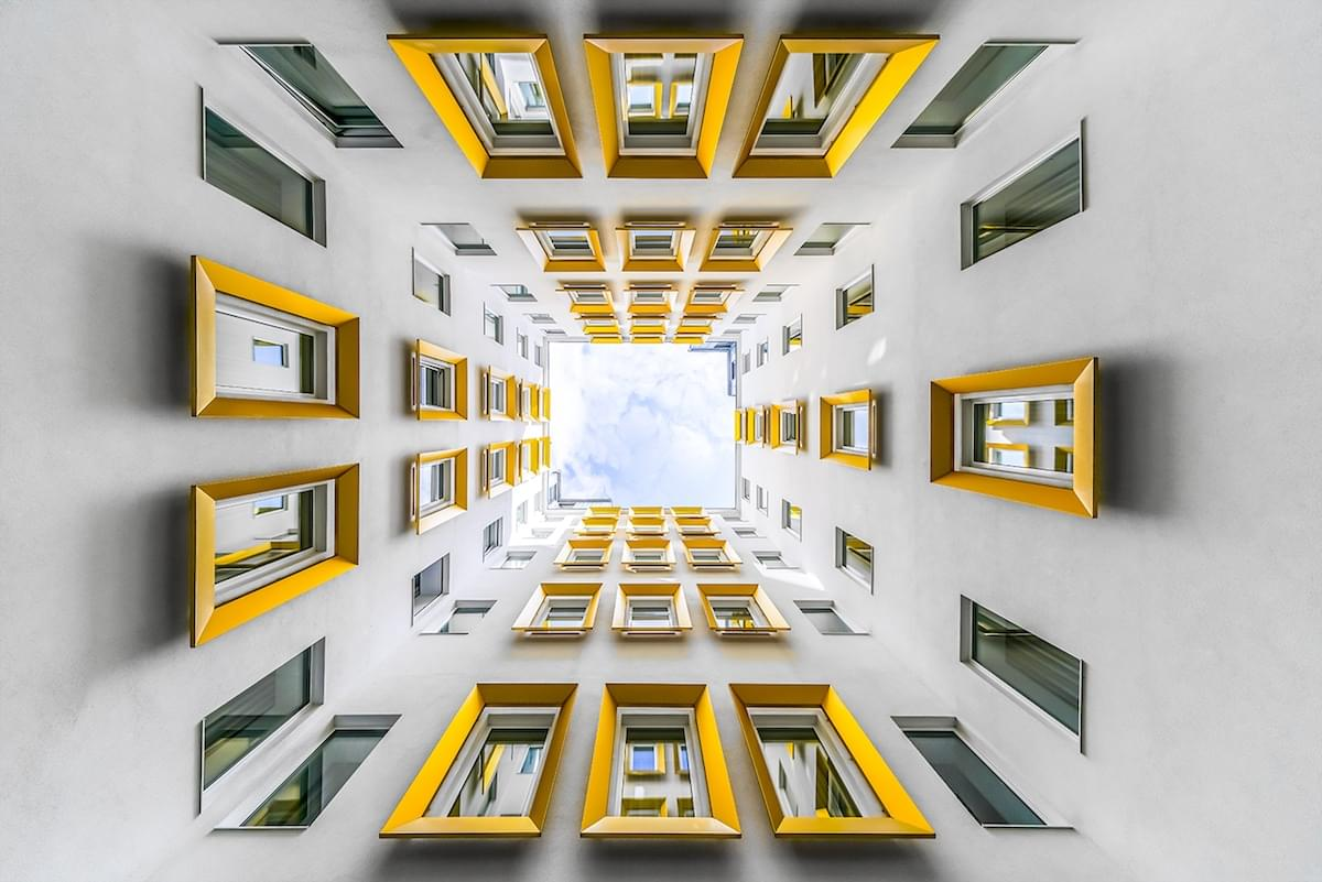 Photographer Captures the Hypnotic Symmetry of Vienna's Architecture