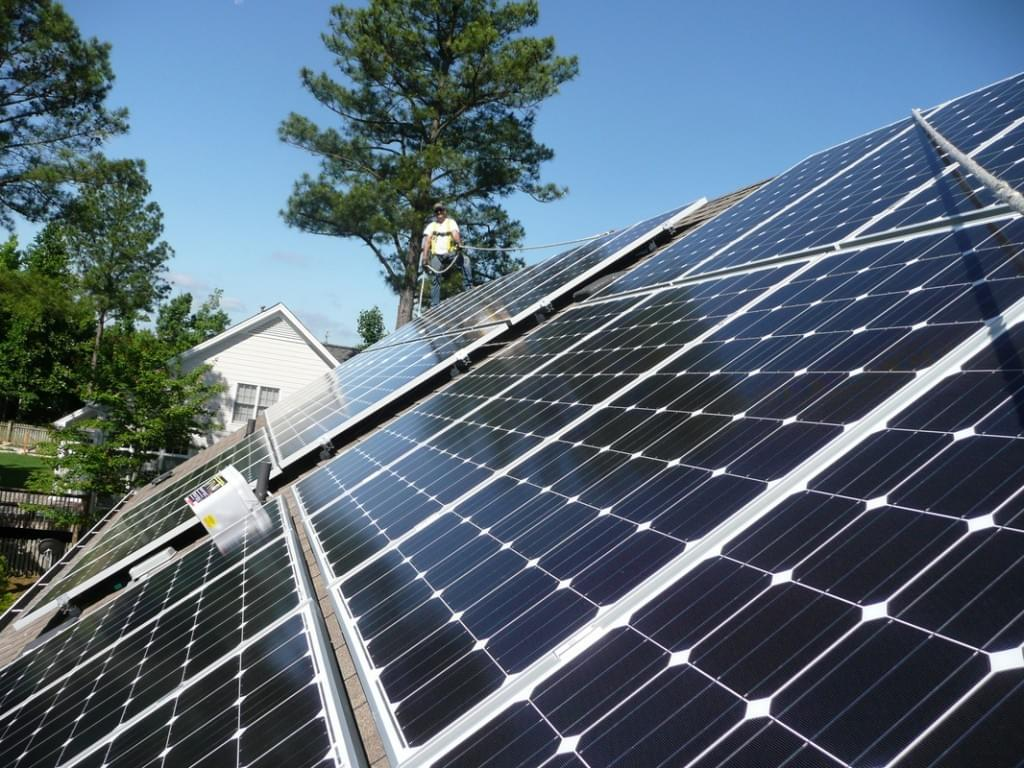 California Passes First Law in the Country to Require Solar Panels on New Homes