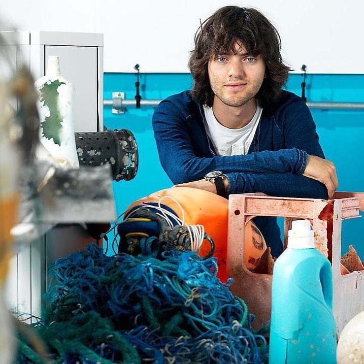 """Boy Genius"" Is Now a Young Man With a Plan to Remove All Plastic From Oceans by 2050"